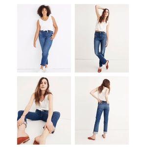 Madewell The High Rise Slim Boyjan Jeans Size 24